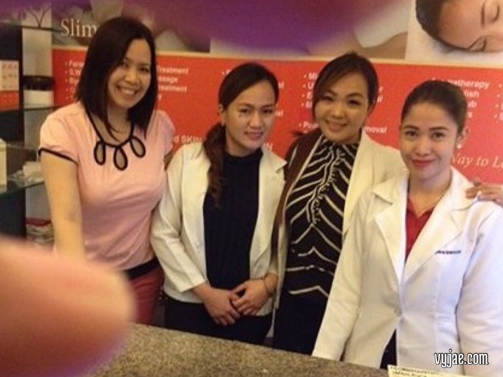 With Bioessence friendly staff: Quennie,