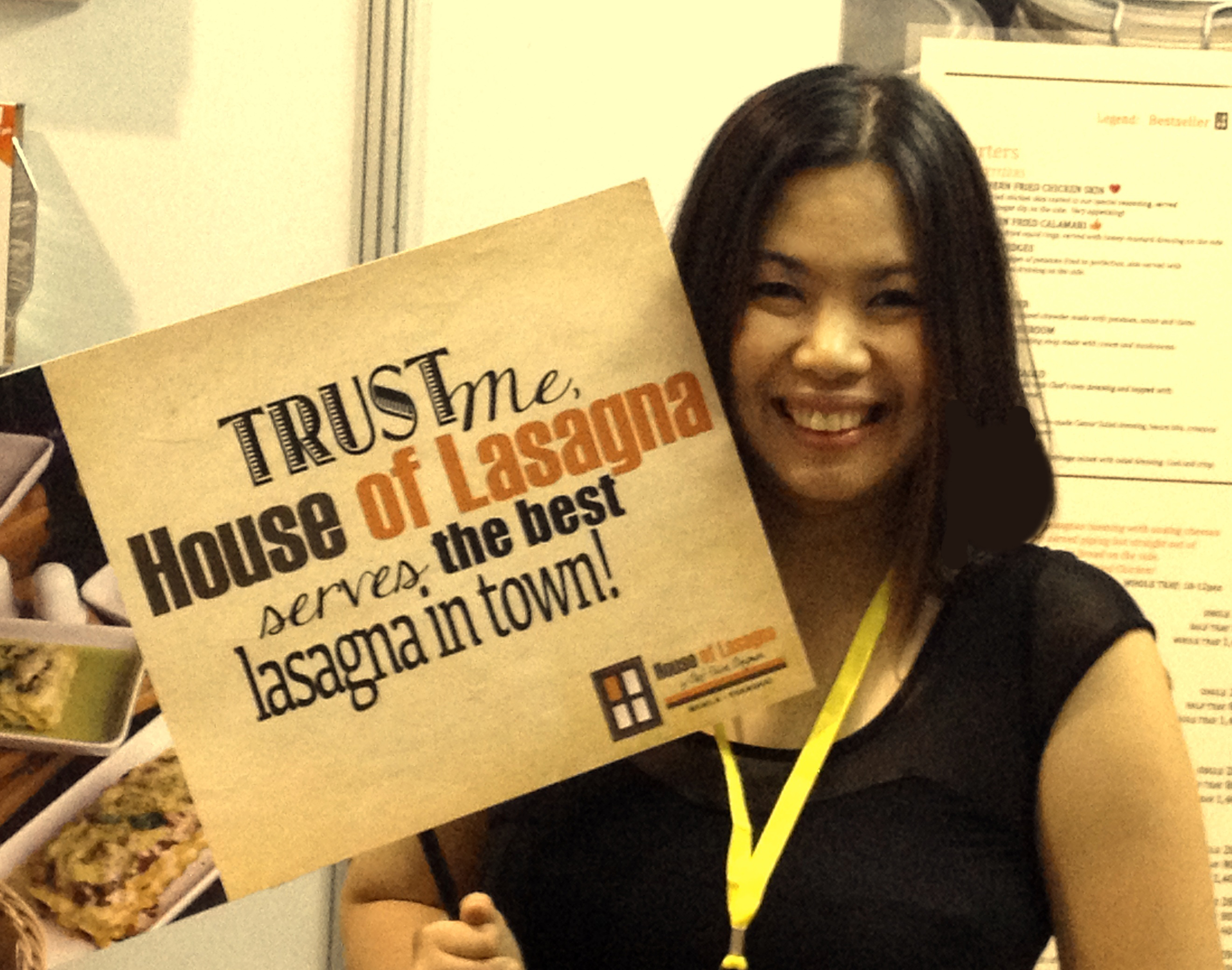 House of Lasagna @ Blogapalooza 2014