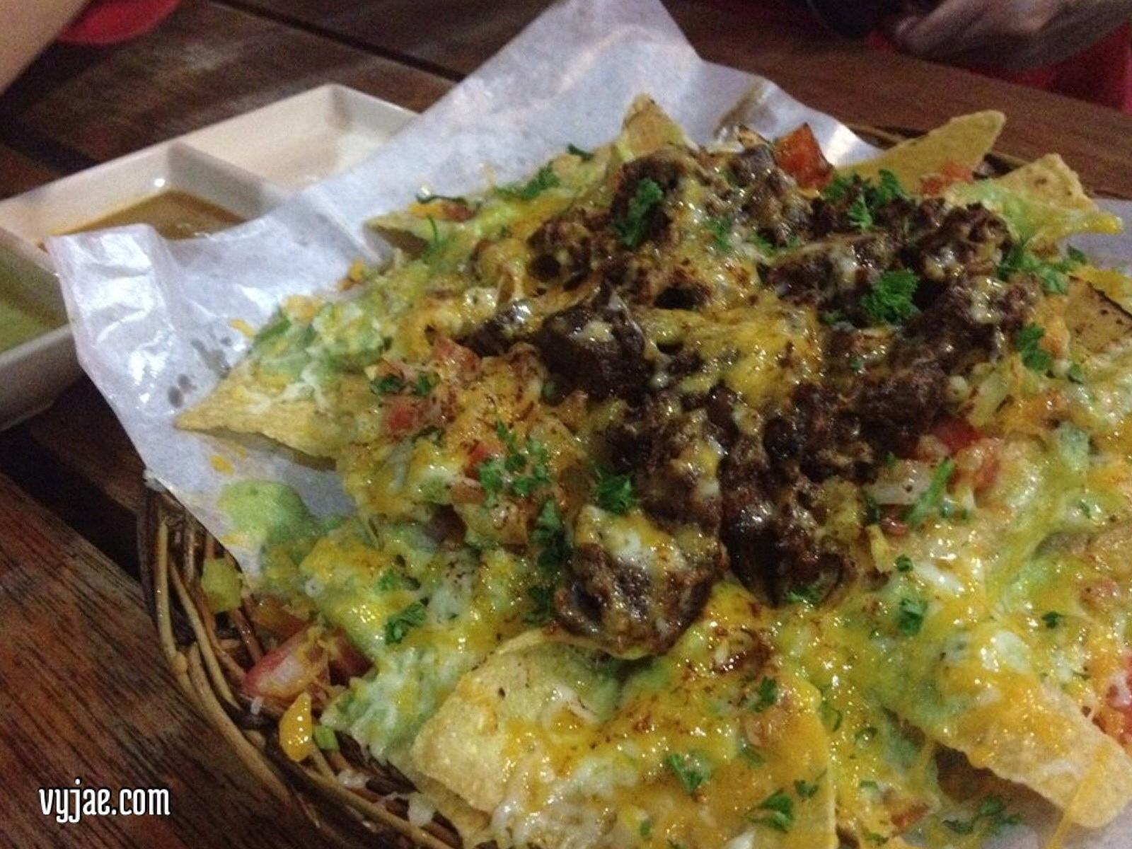 The best beef nachos in town... a must try!