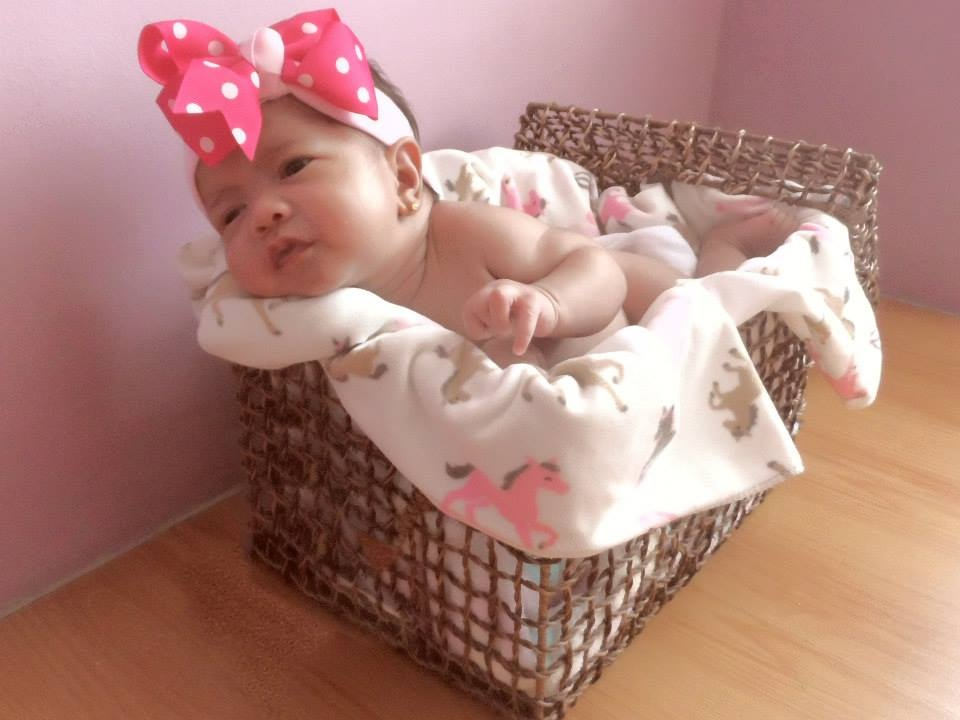 Cassey at 3 weeks from birth