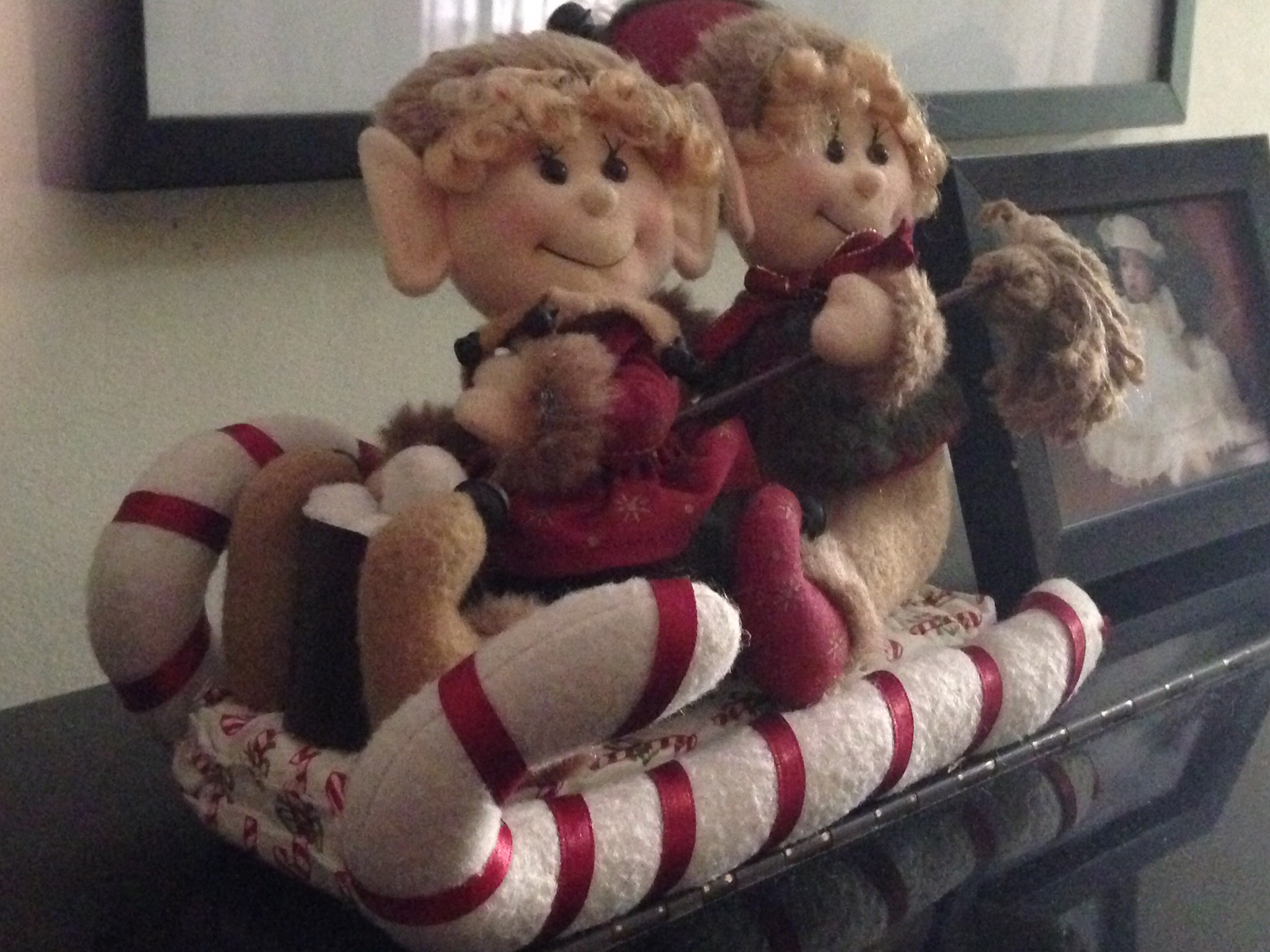 got this really cute stuffed elves on a sleigh for only Php99
